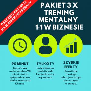 Pakiet 3 x Trening mentalny